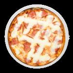 Pizza lombo e catupiry
